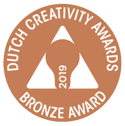 bronzen lamp Dutch Creativity Awards